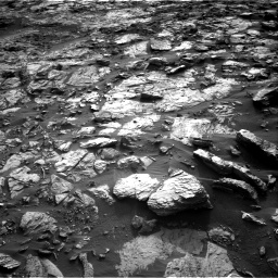 Nasa's Mars rover Curiosity acquired this image using its Right Navigation Camera on Sol 1448, at drive 1876, site number 57