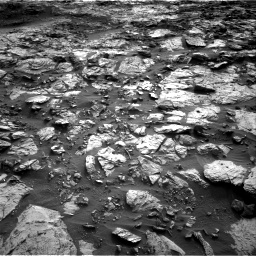 Nasa's Mars rover Curiosity acquired this image using its Right Navigation Camera on Sol 1448, at drive 1882, site number 57