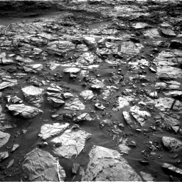 Nasa's Mars rover Curiosity acquired this image using its Right Navigation Camera on Sol 1448, at drive 1888, site number 57