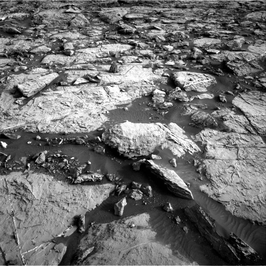 Nasa's Mars rover Curiosity acquired this image using its Right Navigation Camera on Sol 1448, at drive 1906, site number 57