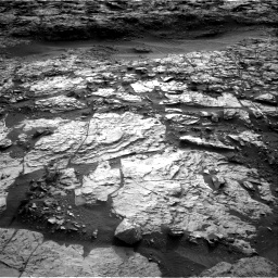 Nasa's Mars rover Curiosity acquired this image using its Right Navigation Camera on Sol 1448, at drive 1918, site number 57