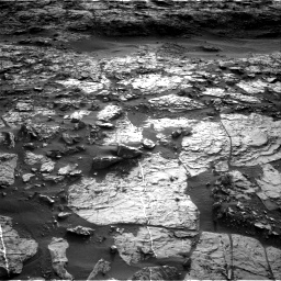 Nasa's Mars rover Curiosity acquired this image using its Right Navigation Camera on Sol 1448, at drive 1930, site number 57