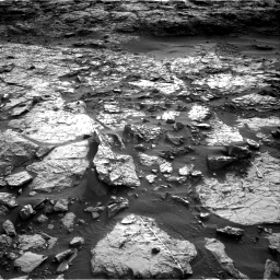 Nasa's Mars rover Curiosity acquired this image using its Right Navigation Camera on Sol 1448, at drive 1936, site number 57