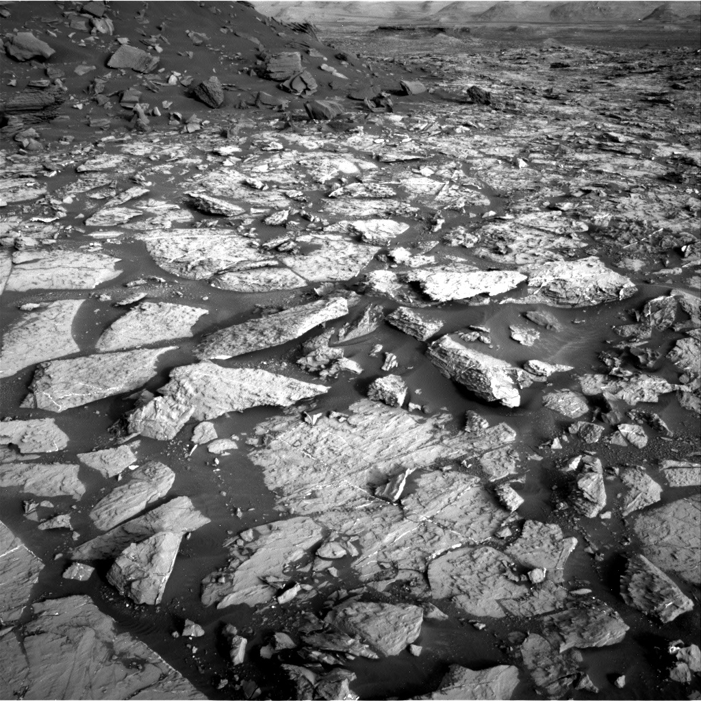 Nasa's Mars rover Curiosity acquired this image using its Right Navigation Camera on Sol 1448, at drive 1942, site number 57