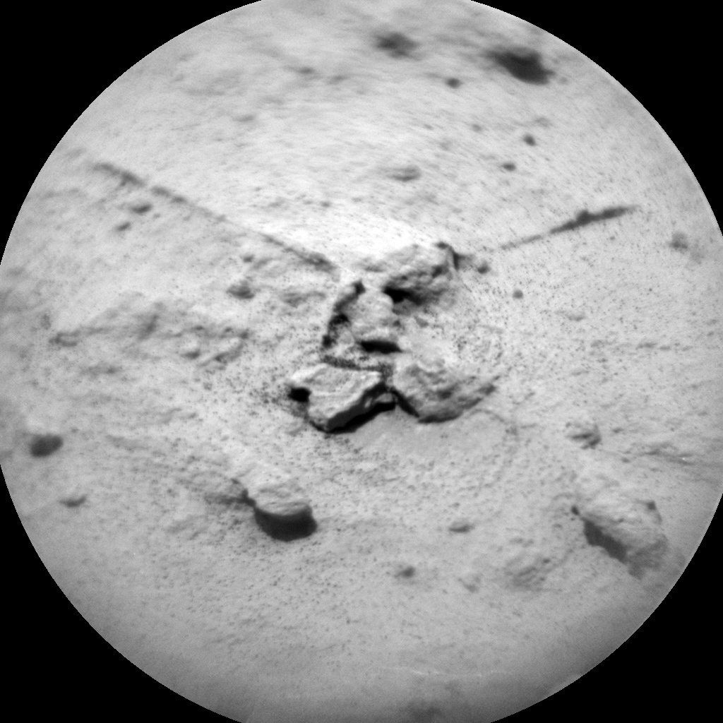 Nasa's Mars rover Curiosity acquired this image using its Chemistry & Camera (ChemCam) on Sol 1449, at drive 1942, site number 57