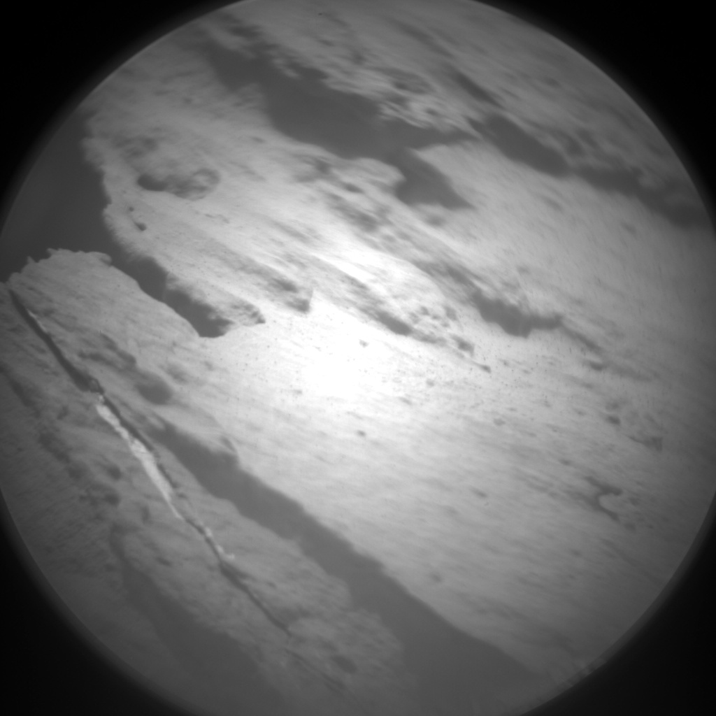 Nasa's Mars rover Curiosity acquired this image using its Chemistry & Camera (ChemCam) on Sol 1450, at drive 1942, site number 57