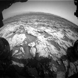 Nasa's Mars rover Curiosity acquired this image using its Front Hazard Avoidance Camera (Front Hazcam) on Sol 1452, at drive 2242, site number 57
