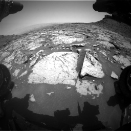 Nasa's Mars rover Curiosity acquired this image using its Front Hazard Avoidance Camera (Front Hazcam) on Sol 1452, at drive 2026, site number 57