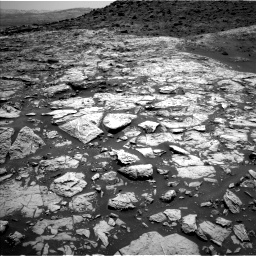 Nasa's Mars rover Curiosity acquired this image using its Left Navigation Camera on Sol 1452, at drive 1978, site number 57