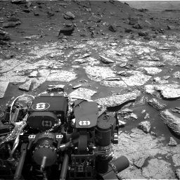 Nasa's Mars rover Curiosity acquired this image using its Left Navigation Camera on Sol 1452, at drive 1990, site number 57