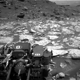 Nasa's Mars rover Curiosity acquired this image using its Left Navigation Camera on Sol 1452, at drive 2002, site number 57