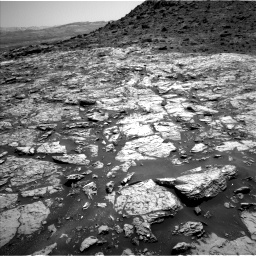 Nasa's Mars rover Curiosity acquired this image using its Left Navigation Camera on Sol 1452, at drive 2020, site number 57