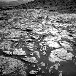 Nasa's Mars rover Curiosity acquired this image using its Left Navigation Camera on Sol 1452, at drive 2038, site number 57