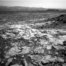 Nasa's Mars rover Curiosity acquired this image using its Left Navigation Camera on Sol 1452, at drive 2176, site number 57