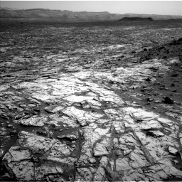 Nasa's Mars rover Curiosity acquired this image using its Left Navigation Camera on Sol 1452, at drive 2194, site number 57