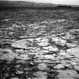 Nasa's Mars rover Curiosity acquired this image using its Left Navigation Camera on Sol 1452, at drive 2242, site number 57