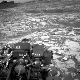 Nasa's Mars rover Curiosity acquired this image using its Left Navigation Camera on Sol 1452, at drive 2290, site number 57