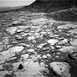 Nasa's Mars rover Curiosity acquired this image using its Right Navigation Camera on Sol 1452, at drive 1954, site number 57