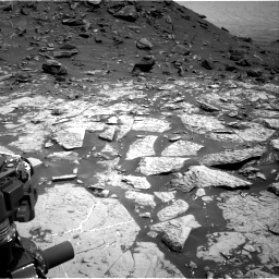 Nasa's Mars rover Curiosity acquired this image using its Right Navigation Camera on Sol 1452, at drive 1978, site number 57