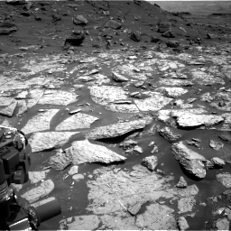 Nasa's Mars rover Curiosity acquired this image using its Right Navigation Camera on Sol 1452, at drive 1990, site number 57
