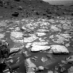 Nasa's Mars rover Curiosity acquired this image using its Right Navigation Camera on Sol 1452, at drive 2002, site number 57