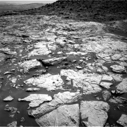 Nasa's Mars rover Curiosity acquired this image using its Right Navigation Camera on Sol 1452, at drive 2008, site number 57