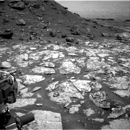 Nasa's Mars rover Curiosity acquired this image using its Right Navigation Camera on Sol 1452, at drive 2014, site number 57