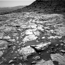 Nasa's Mars rover Curiosity acquired this image using its Right Navigation Camera on Sol 1452, at drive 2020, site number 57