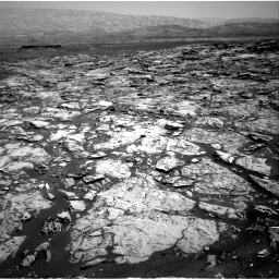 Nasa's Mars rover Curiosity acquired this image using its Right Navigation Camera on Sol 1452, at drive 2026, site number 57