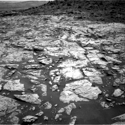 Nasa's Mars rover Curiosity acquired this image using its Right Navigation Camera on Sol 1452, at drive 2038, site number 57