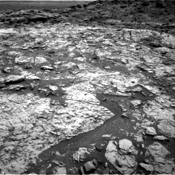 Nasa's Mars rover Curiosity acquired this image using its Right Navigation Camera on Sol 1452, at drive 2092, site number 57