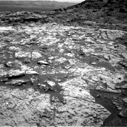 Nasa's Mars rover Curiosity acquired this image using its Right Navigation Camera on Sol 1452, at drive 2098, site number 57
