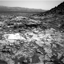 Nasa's Mars rover Curiosity acquired this image using its Right Navigation Camera on Sol 1452, at drive 2128, site number 57