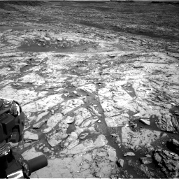 Nasa's Mars rover Curiosity acquired this image using its Right Navigation Camera on Sol 1452, at drive 2206, site number 57
