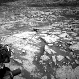 NASA's Mars rover Curiosity acquired this image using its Right Navigation Cameras (Navcams) on Sol 1452