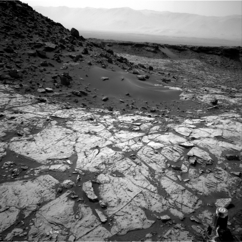 Nasa's Mars rover Curiosity acquired this image using its Right Navigation Camera on Sol 1452, at drive 2296, site number 57