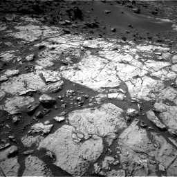 Nasa's Mars rover Curiosity acquired this image using its Left Navigation Camera on Sol 1454, at drive 2320, site number 57