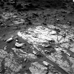 Nasa's Mars rover Curiosity acquired this image using its Left Navigation Camera on Sol 1454, at drive 2362, site number 57