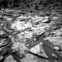 Nasa's Mars rover Curiosity acquired this image using its Left Navigation Camera on Sol 1454, at drive 2416, site number 57