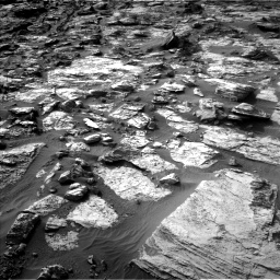 Nasa's Mars rover Curiosity acquired this image using its Left Navigation Camera on Sol 1454, at drive 2452, site number 57