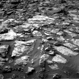 Nasa's Mars rover Curiosity acquired this image using its Left Navigation Camera on Sol 1454, at drive 2458, site number 57