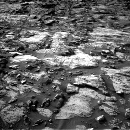Nasa's Mars rover Curiosity acquired this image using its Left Navigation Camera on Sol 1454, at drive 2470, site number 57