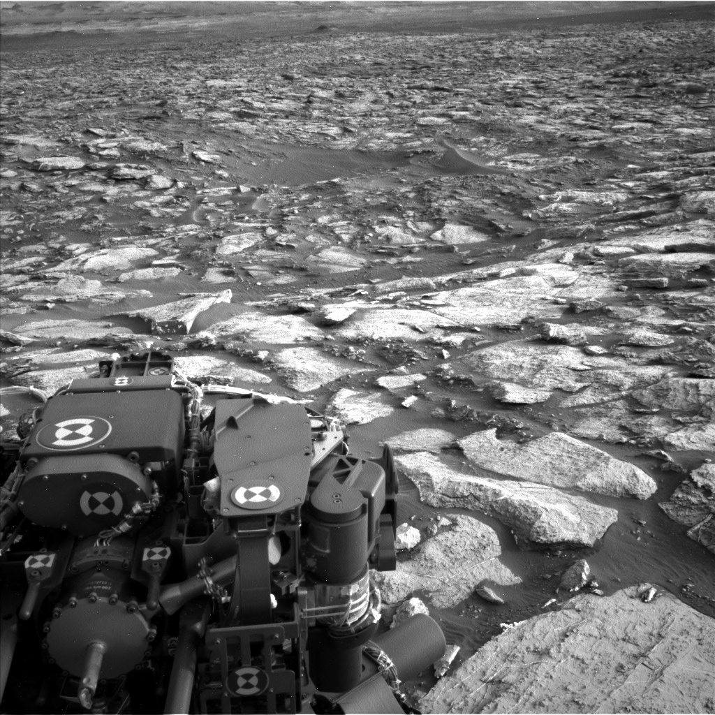 Nasa's Mars rover Curiosity acquired this image using its Left Navigation Camera on Sol 1454, at drive 2582, site number 57