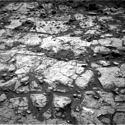 Nasa's Mars rover Curiosity acquired this image using its Right Navigation Camera on Sol 1454, at drive 2296, site number 57