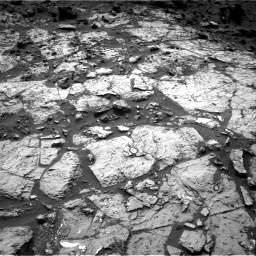 Nasa's Mars rover Curiosity acquired this image using its Right Navigation Camera on Sol 1454, at drive 2302, site number 57
