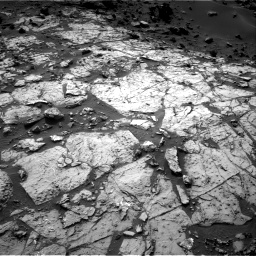 Nasa's Mars rover Curiosity acquired this image using its Right Navigation Camera on Sol 1454, at drive 2308, site number 57