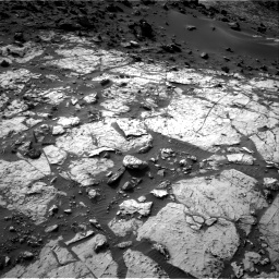 Nasa's Mars rover Curiosity acquired this image using its Right Navigation Camera on Sol 1454, at drive 2326, site number 57