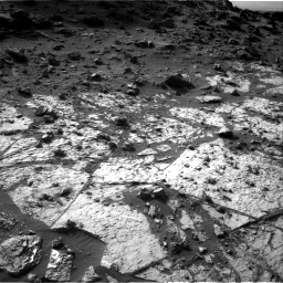Nasa's Mars rover Curiosity acquired this image using its Right Navigation Camera on Sol 1454, at drive 2350, site number 57