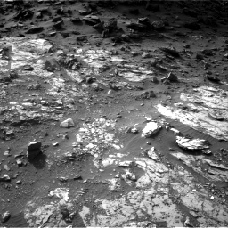 Nasa's Mars rover Curiosity acquired this image using its Right Navigation Camera on Sol 1454, at drive 2374, site number 57