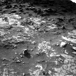 Nasa's Mars rover Curiosity acquired this image using its Right Navigation Camera on Sol 1454, at drive 2380, site number 57